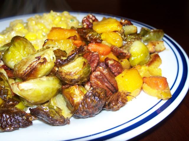 roasted winter vegetables