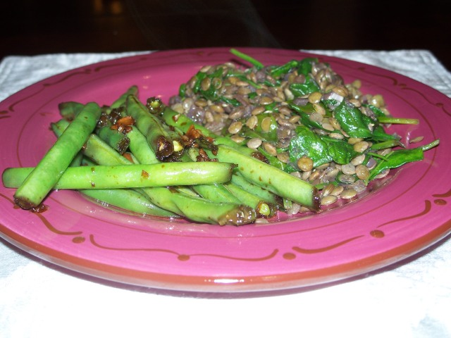 quick and easy stir-fried green beans