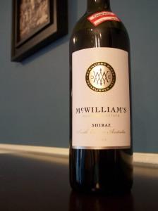 wine wednesday, shiraz