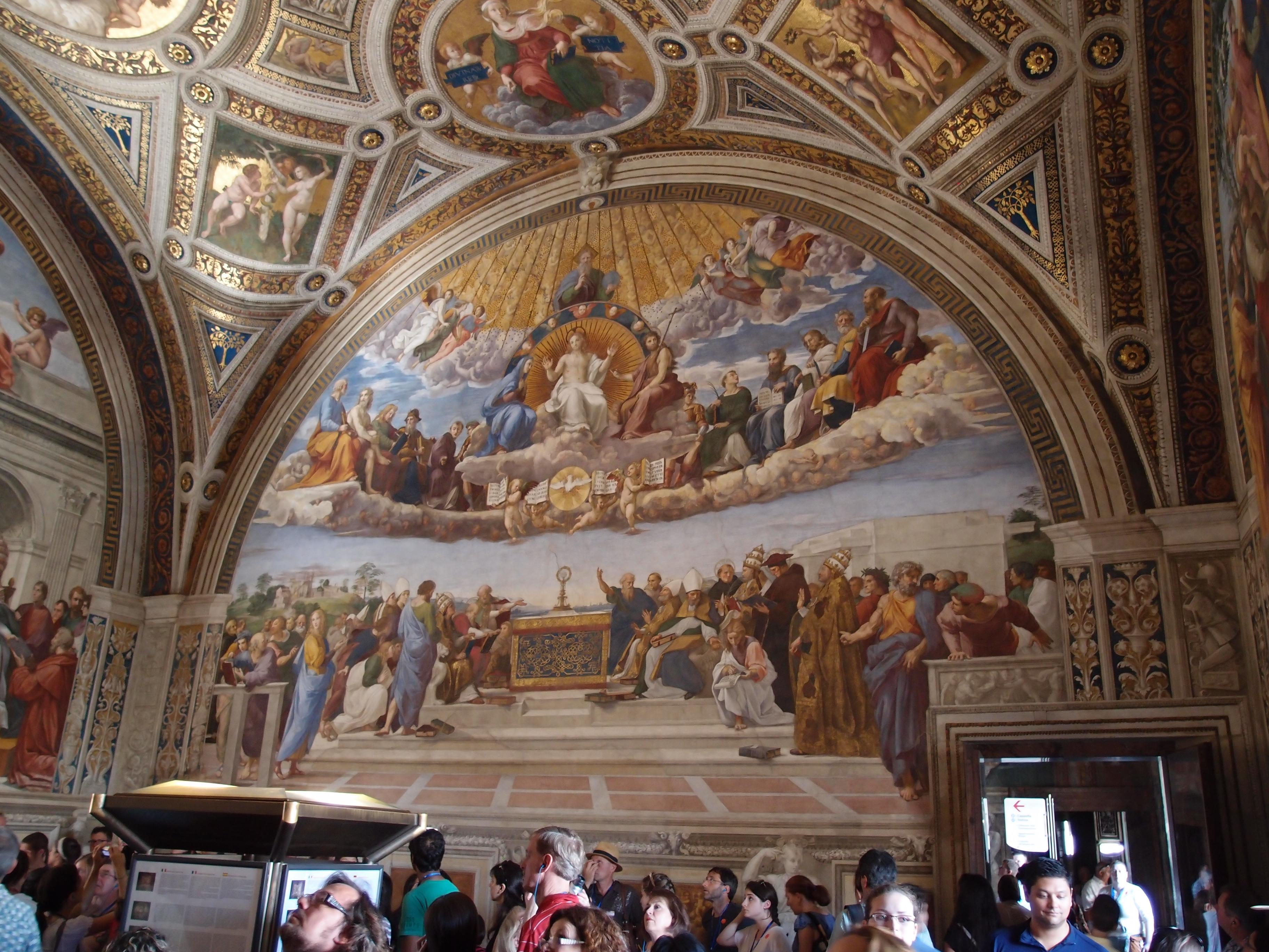 Sistine Chapel 171 Life Happens
