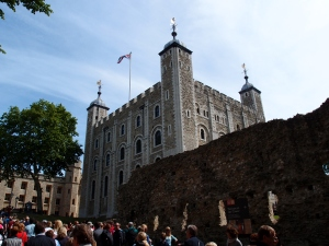 The White Tower- oldest part of the Tower of London