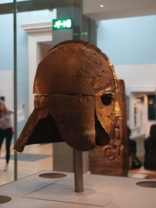 the helmet from the Sutton Hoo burial