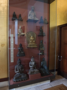 What I need in my home- a wall of Buddhas!