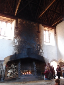 These fireplaces were huge! You (and several of your closest friends) could fit inside. And there were quite a few of these in the kitchen area, demonstrating just how much food was prepared in the kitchens on the daily.