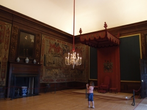 William and Mary's throne room