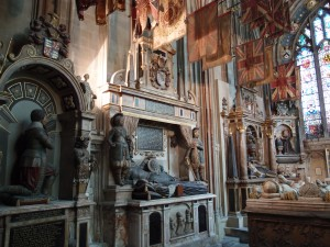 one of my favorite chapels, the Warrior Chapel, filled with 15th, 16th, and 17th century tombs