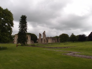 ruins of the abbey